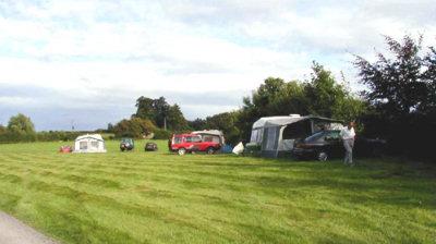 Touring caravan park at Park Grange